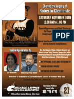 Roberto Clemente Family Book Signing