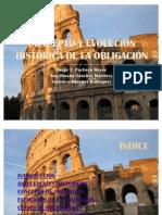 31010464 Concepto y Evolucion Historica de La Obligacion