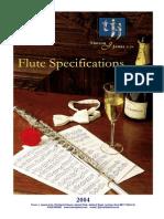 Flute Specs