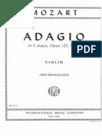 Mozart Adagio K. 261