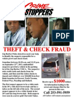 Pierce County Crimestoppers Poster