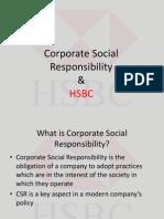 HSBC- CSR