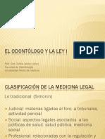 M El Odontólogo y la ley I