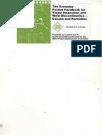 Pocket Handbook for VI & Weld Discontinuities