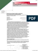 power amplifier combinations.pdf