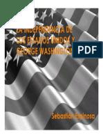 Unidad 8 Independencia de EEUU - Sebastián Espinosa Cadavid