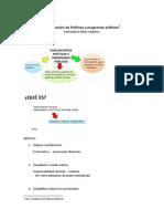 La evaluación de Políticas y programas públicos Resumen ultimo