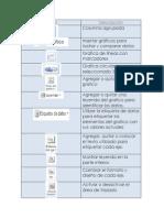 Iconos de Graficas y Tablas.