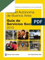 Guía de servicios sociales 2012