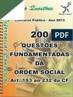 Questões_DA ORDEM SOCIAL