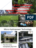 Promotion of Philippiune Micro Hydropower Technology in Region 4A.pptx