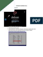 Manual de instalación de Deban Linux