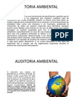 Power Point Auditoria Ambiental