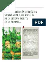 Kalman y Segura. la alfabetización académica.