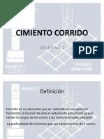Presentacion de Fundicion de Cimiento Corrido(3)