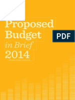 Proposed Philippine National Budget FY 2014