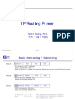 IP Routing Primer