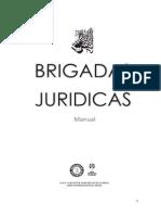 brigadas jurídicas  (Manual, concepto y  metodología)