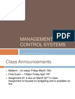 BSAD322Chapter22Management Control Systems