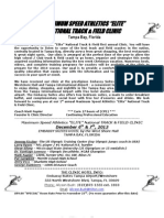 2013 short print track clinic-brochure dec 6  7th