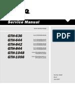 Genie Manual de Servicio Gth-844
