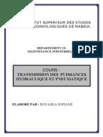 Transmission de Puissance Hydraulique