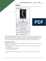 Biografía de Vicente Ramón Roca