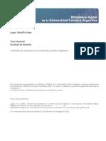 Contrato de Suministro en El Derecho Privado Argentino