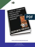 Las 11 Trampas Hacia Unas Finanzas Personales Sanas