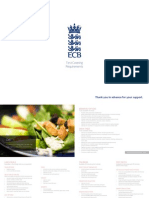 England Cricket Team's Dietary Demands For Ashes Tour of Australia 2013