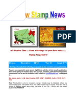 Rainbow Stamp News November 2013