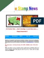Rainbow Stamp News November 2013