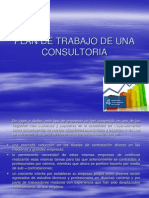 Plan de Trabajo de Una Consultoria