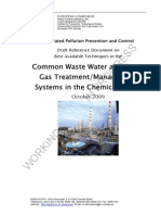 BREF - Wastewater and Waste Gas Treatment
