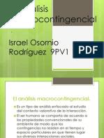 El análisis macrocontingencial