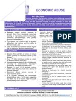 ncadv economic abuse fact sheet