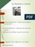 Acciones, Razones y Causas exp .ppt