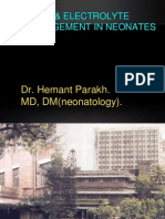 fluid and electrolyte therapy hemant new.ppt