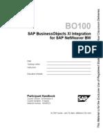 BO100 - Integration for SAP BW.pdf