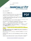 new member e-mail autoresponder series - financiallyfit com - benedict paul