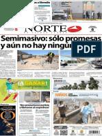 Periodico Norte de Ciudad Juarez 8 de Noviembre de 2013