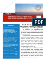 South China Sea Bulletin Vol.1 No.11 (1 November 2013)