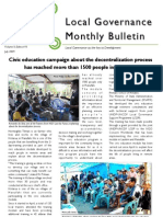 UNMIT East Timor Local Governance Bulletin July 2009