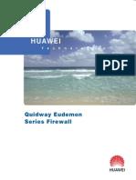 Huawei Firewall Eudemon