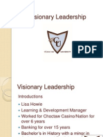 Visionary Leadership Ppt