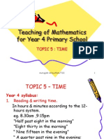 Topic 5 (Time)-Y4 09.ppt