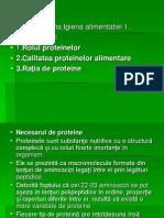 Igiena Aliment Proteinele