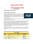 Drugs for HIV 1