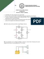 EE211 C & D- EE211 C & D- Assignment 01.PDF