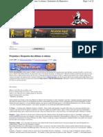 071121 - Teoria da conspiração - Perguntas e Respostas das Últimas 4 Colunas